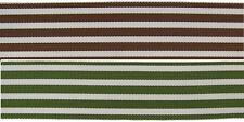 "1.5"" (38mm) Dual Stripe Grosgrain Ribbon 1110 (BTY)"