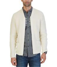 Nautica Mens Shawl Collar Zipped Cardigan Sweater
