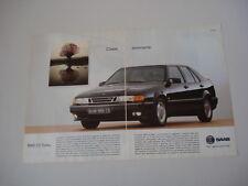 advertising Pubblicità 1994 SAAB 9000 CS TURBO