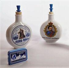 Schnupftabak Flasche klein,  mit Motiv König Ludwig II von Bayern