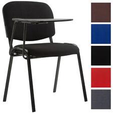 Chaise visiteur KEN tablette tissu conférence réunion travail fauteuil cuisine