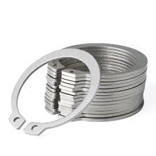 External Retaining Ring,Snap Rings for Shaft,304 Stainless Steel,Φ10mm-Φ18mm