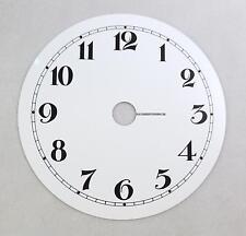 cadran plat  alu laqué ø 300 mm  chiffre breguet horloge oeil de boeuf
