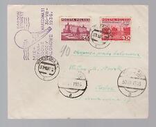 1936 Warsaw Poland Gordon Bennett Balloon Cover