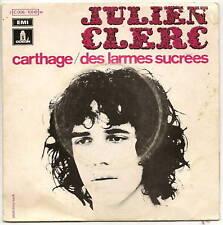 """CLERC Julien 45T 7"""" SP  CARTHAGE - LES LARMES SUCREES"""