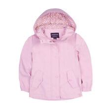 Girls' Lightweight Waterproof Hooded Rain Jacket Raincoat Windbreaker Outwear