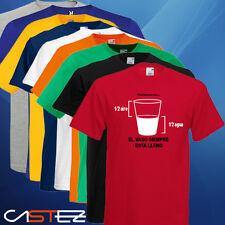 Camiseta vaso siempre lleno freak friki (ENVIO 24/48h)VARIOS COLORES