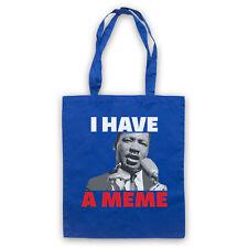 Tengo un MEME MARTIN LUTHER KING MLK Gracioso Parodia de HOMBRO acarreo Bolso de la tienda