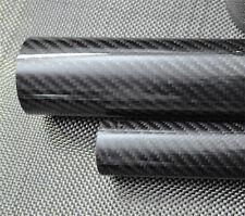 ID 11mm x OD 13mm x 500mm 3K Roll Wrapped Carbon Fiber Tube 13*11 RC Model