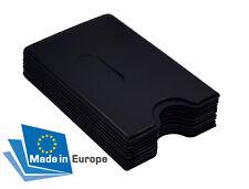 EC Kartenhülle Schwarz STABIL Kreditkartenhülle Scheckkartenbox Schutzhülle 1A