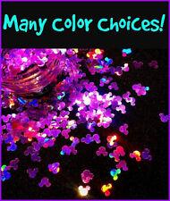 MOUSE Shape Glitter~U CHOOSE~Nail•Acrylic•Gel•Body Art•Face•Festival•Crafts