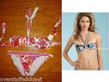 NWT $164 Trina Turk Caprice Paisley-Print Two-Piece Bandeau Swimsuit  8
