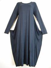 LOOK a strati 95%viscosa 5%ELASTIN ITALIAN drappo vestito L/maniche 7 Cols