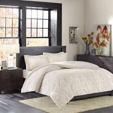 Posh Ivory Ultra Plush Comforter AND Pillow Shams - ALL SIZES