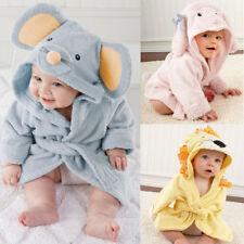 Baby Infant Hooded Towels  Bath Robe Beach Cover Ups Bath Hooded Towel