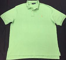 Ralph Lauren Herren Pima-Baumwolle Polo Shirt Größe 2XB, 3XB, 4XB, groß