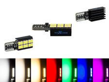 MaXlume® 12x SMD 2835 CAN-Bus LED Side 720LM w5w T10 Glassockel 12V 24V 7 Farben
