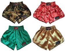 Boon Sport Boxing Retro Shorts Green Gold S M L Xl Xxl Muay Thai Free Shipping