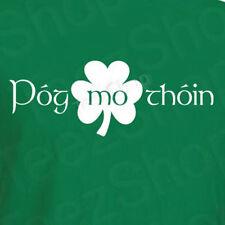 POG MO THOIN Funny St Patrick's day celtic Saint slang IRISH party T-Shirt