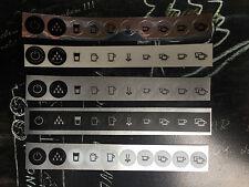 Jura Impressa Z5 Tastensymbol Aufkleber Sticker