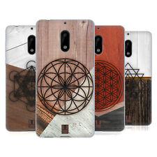 HEAD CASE DESIGNS GEOMETRIC WOOD PRINTS SOFT GEL CASE FOR NOKIA PHONES 1