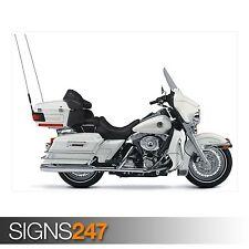Motos Harley Davidson 48 (AC461) Cartel De Bicicleta-arte cartel impresión A0 A1 A2 A3