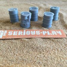 Fuel Drums - Model Scenery Resin Barrels oo Scale Gauge Miniature Wargames Scene