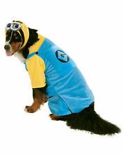 Despicable Me Pet Minion Big Dog Clothes Costume Goggles Dress Up XXL XXXL
