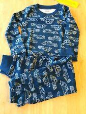 NWT Gymboree Boys Gymmies Pajama PJ 4  LS set cotton car
