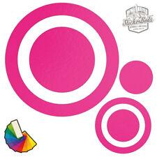 20 Spot círculo Dot Car & Pegatinas de Pared/calcomanías   elegir entre 30 Colores S3