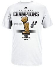 New NWT San Antonio Spurs adidas NBA Youth 2014 Champ Locker Room T Shirt