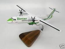 ATR-72 Binter Canarias ATR72 Airplane Desktop Wood Model Big