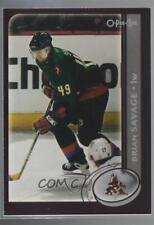 2002-03 O-Pee-Chee #120 Brian Savage Phoenix Coyotes Hockey Card
