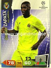 Adrenalyn XL Champions League 11/12 - Cristian Zapata