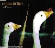 CHINA DRUM - Last Chance (UK 4 Track CD Single)