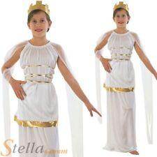 Girls Grecian Greek Roman Goddess Athena Book Week Fancy Dress Costume Outfit