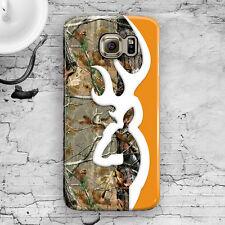 Deer Head Camo Orange Galaxy S3,S4,S5,S6,S6 Edge,S6 Edge+, Note 3,4,5 Case