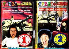 I PAZZI DELLA STRADA 1 + 2 (1996)   2 VHS CineHollywood