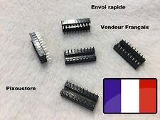 Lot de supports Lyre pour circuit intégré 20 broches, lot au choix/ DIP 20 4-40