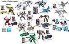 Transformers Premier Bumblebee, Strafe, Sqweek, Megatron, Drift, Slug, Berserker
