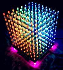 3D 8S Musik Würfel Lampe Kit 8x8x8 Music Spectrum LED Electronic DIY Kits