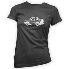 Vitara Escudo Womens T-Shirt -x14 Colours- Off Road 4x4 FatBoy Green Lane Mud