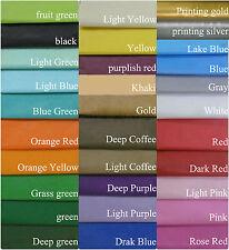 10 hojas libre de ácidos Papel de seda varios colores 50cm 35cm aproximadamente