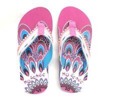 Mädchen Zehentrenner pink Größe 30 35 Badeschuhe Keilabsatz Zehen Schuhe NEU
