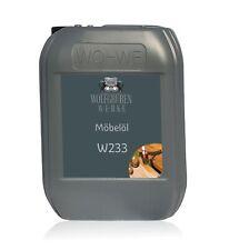 Möbelöl Holzmöbelöl Holzöl Arbeitsplattenöl Innen und Aussen W233 Farblos 1-10L