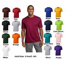 PEACHES PICK Moist Wick Dri fit Crossfit Workout Run Mens S-3X 4XL Sport T-shirt