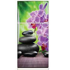 Stickers frigo déco cuisine Orchidée Galets 6225 6225