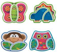 FOUR DESIGNS Toddler Baby Melamine Plate Tray Stephen Joseph Boys Girls