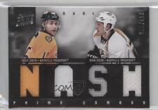 2011-12 Panini Prime Combos Dual Materials 37 Craig Smith Ryan Suter Hockey Card