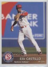 2016 Grandstand Spokane Indians #8 Elio Castillo Rookie Baseball Card